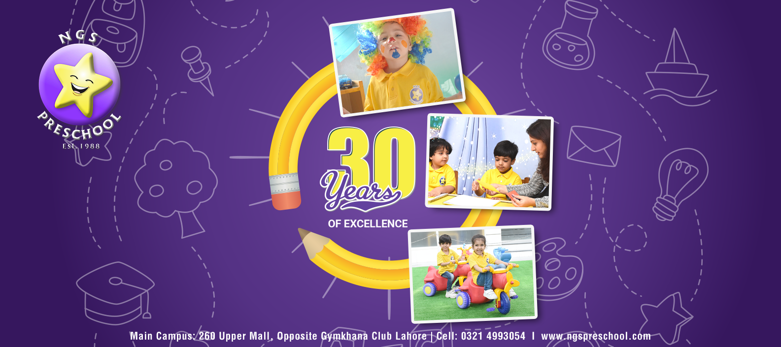 About Us - NGS Preschool is one of the best preschools in Lahore