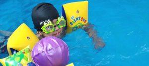 Swimming at NGS Preschool- The Best Preschool in lahore