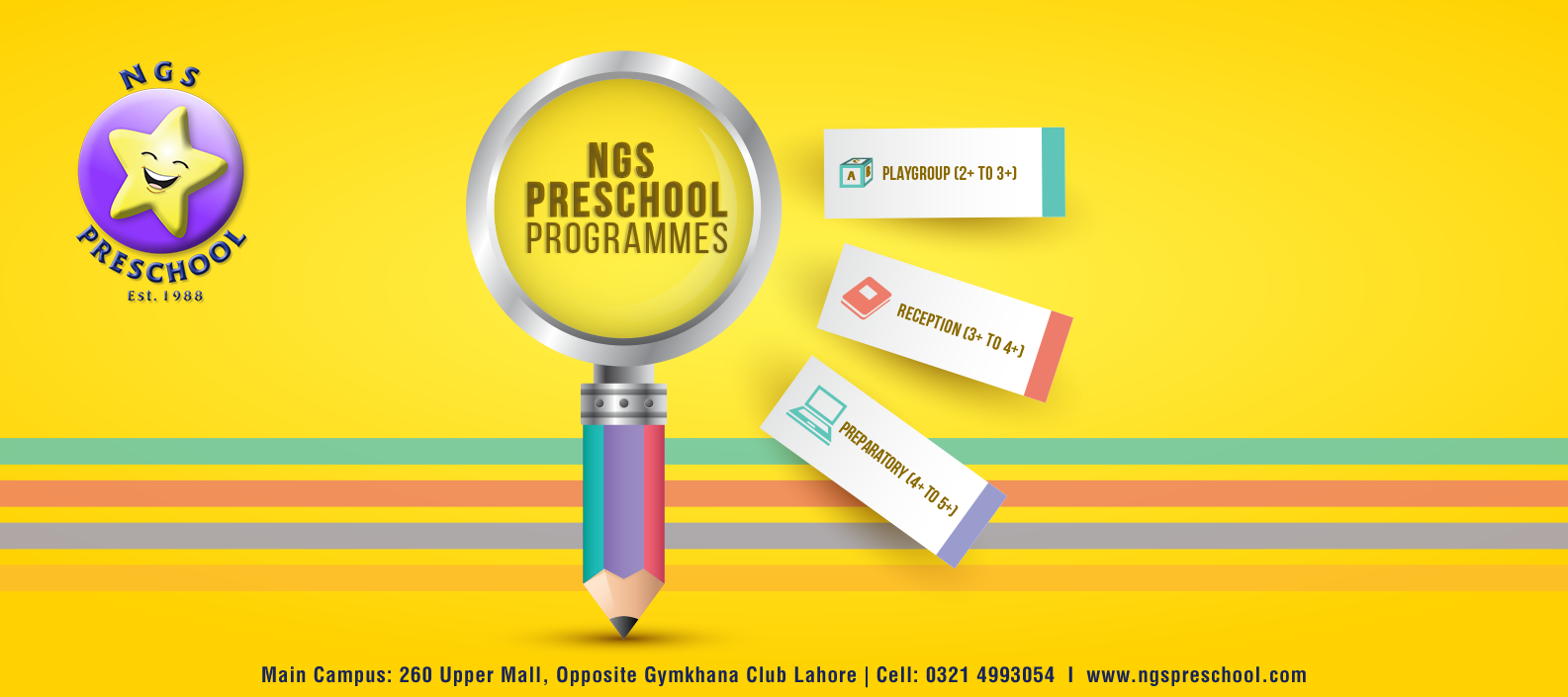 Information - NGS Preschool as the top 5 preschool in lahore