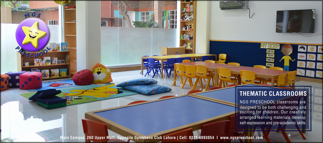 Facilities - NGS Preschool best Montessori school in Lahore